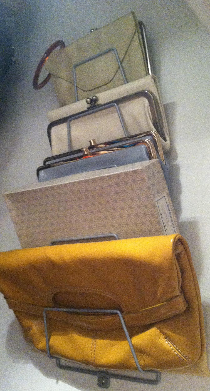 Ikea Variera Pot Lid Organizer ~ Pot Lid Rack Turned Handbag Holder  Jaime Lynn Verazin
